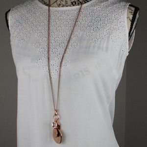 Lightweight Sleeveless Embellished Solitaire Top